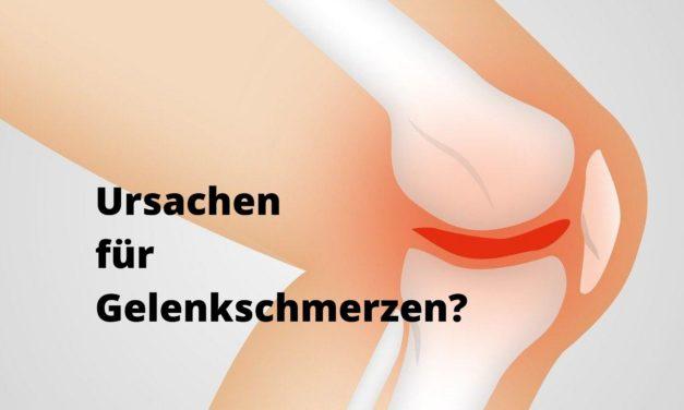 Häufige Ursachen für Gelenkschmerzen