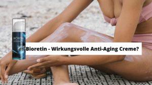 Faltenfreie Haut mit Bioretin
