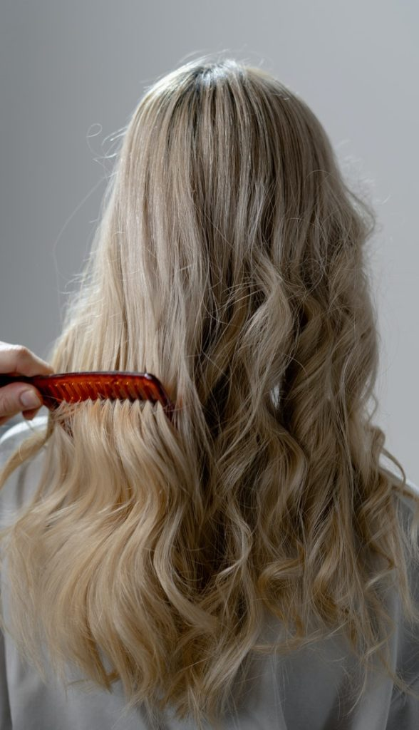 blonde Extentions